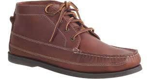sperry leather chukka boots