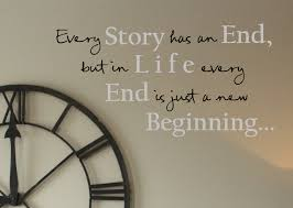 Every Story Has An End Wall Decals Trading Phrases