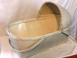round bassinet badger basket fitted