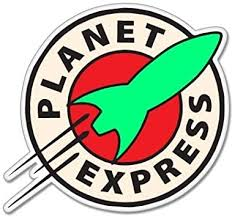 Amazon Com Futurama Planet Express Vynil Car Sticker Decal 5 Automotive