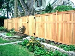 Yard Privacy Fence Ideas Fences Front Fence Ideas For Front Yard Autoiq Co