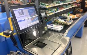 stealing from walmart self checkout is