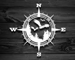 Mountain Vinyl Decal For Wranglers Car Decal Compass Decal Etsy In 2020 Mountain Decal Vinyl Decals Car Decals Vinyl