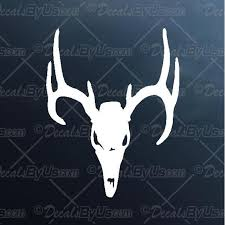 Get The Hottest Deer Skull Car Truck Stickers