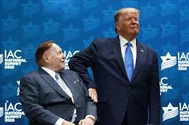 Trump Megadonor Sheldon Adelson Got $1.2 Billion Richer This Week, In Part  Thanks To A Trump Tweet