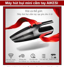 Máy hút bụi mini cầm tay Aikesi công suất 120W cưc kỳ tiện lợi - Máy hút  bụi dùng pin - Máy hút bụi ô tô