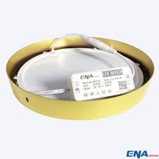 Đèn LED ốp trần tròn 18W mẫu OTC-3 màu viền Vàng