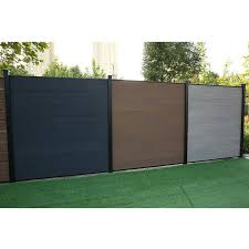 Macrotech 6 Ft H X 6 Ft W Composite Fence Panel Wayfair Ca