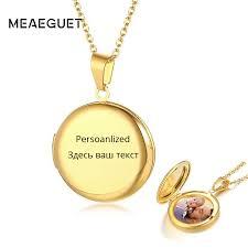 personalized locket pendant women