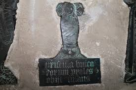 Brass of Priscilla Butler, St Edith's... © J.Hannan-Briggs :: Geograph  Britain and Ireland