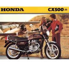 the honda cx500 clic anese
