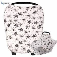 car seat cover baby boy winter pattern