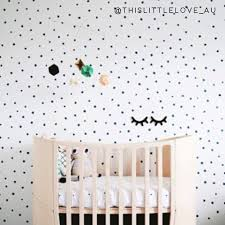 Tiny Hand Drawn Dots Wall Decals The Lovely Wall Company