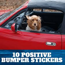 10 Positive Bumper Stickers For Your Vehicle In 2020