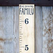 Buy Diy Vinyl Growth Chart Ruler Decal Kit Our Growing Family Modern In Cheap Price On Alibaba Com