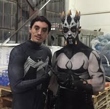 Bat in the Sun - Aaron Schoenke and Dirk Ellis on set of... | Facebook