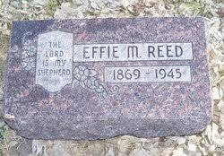 Effie May Ayres Reed (1869-1945) - Find A Grave Memorial