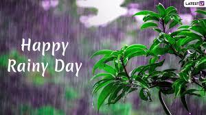 happy rainy day you