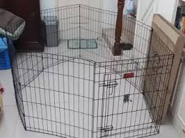 Dog Cage Dog Fence Dog Pen 8 Panels 1 Door Pl 2 5 Resizeable Lazada Ph