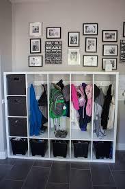 Getting Organized With Lockers For The Kids Ikea Hack Diy Locker Home Diy Ikea Hack