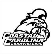 Coastal Carolina Chanticleers Decal North 49 Decals