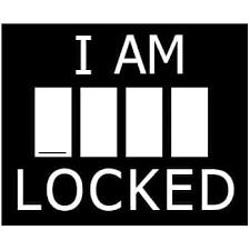 Amazon Com I Am Locked Sherlock Decal Vinyl Sticker Cars Trucks Vans Walls Laptop White 5 5 X 4 5 In Lli136 Automotive