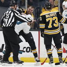 Bruins' Zdeno Chara to receive no supplemental discipline for hit on  Sharks' Evander Kane - Fear The Fin