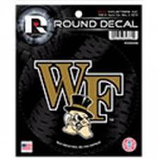Wake Forest University Stickers Decals Bumper Stickers