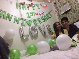 first anniversary surprise for my ldr