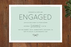 how to word engagement party invitations examples
