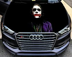 Full Color Sticker Joker Batman Car Hoo Buy Online In Jordan At Desertcart
