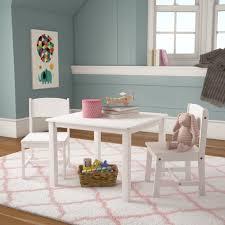 Kidkraft Aspen Kids 3 Piece Play Table And Chair Set Reviews Wayfair