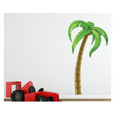Palm Tree Vinyl Wall Decal Palmtreeuscolor008 Contemporary Wall Decals By Vinyl Disorder Inc