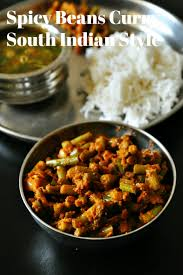 beans curry recipe beans fry south