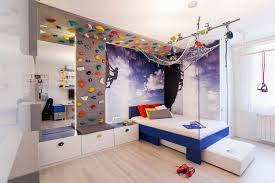 Creative Climbing Walls For The Kids Rooms A More Active Home Interior