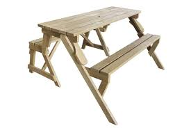 2 in 1 fold out picnic bench table
