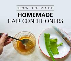 homemade natural hair conditioners