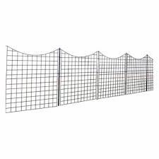 Patio Lawn Garden 42 Outdoor Decor Zippity Outdoor Products Wf29002 Garden Metal Fence Decorative Fences Outdoor Decor