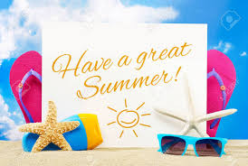 Have A Great Summer Stock Photo, Picture And Royalty Free Image ...