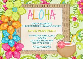 Free Beach Themed Birthday Invitations Luau Birthday Invitation