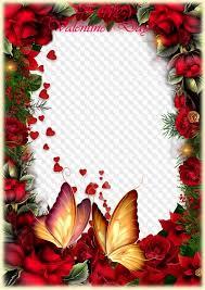 happy valentines day photo frame