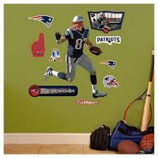 New England Patriots Fathead Decorative Wall Art Set 40 X3 X3 Target