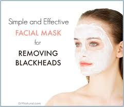 a quick and easy homemade blackhead mask