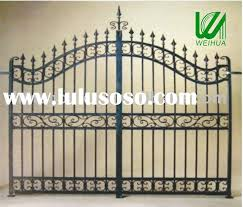 2012 Euro Design Wrought Iron Main Fence Gate Design For Sale Price China Manufacturer Supplier 1730926