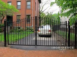 Double Vs Single Driveway Gate What Are The Pros And Cons Iron Fence Shop Blog