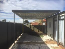 Stratco Carport And Stratco Good Neighbour Fence Oasis Home Improvements