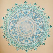 Prosperity Mandala Stencil For Walls Mandala Wall Stencil Etsy