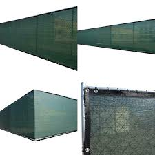 Fence4ever 68 In X 50 Ft Green Privacy Fence Screen Plastic Netting Mesh Fabric Cover