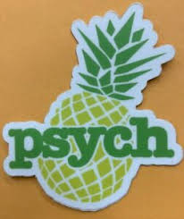 Psych Tv Show Pineapple Logo Sticker For Skateboard Car Laptop Luggage Decal 3 Ebay