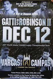 Arturo Gatti vs Ivan Robinson Fan scorecards | EYE ON THE RING
